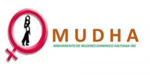Logotipo ONG MUDHA República Dominicana