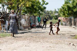Imagen de un batey en República Dominicana
